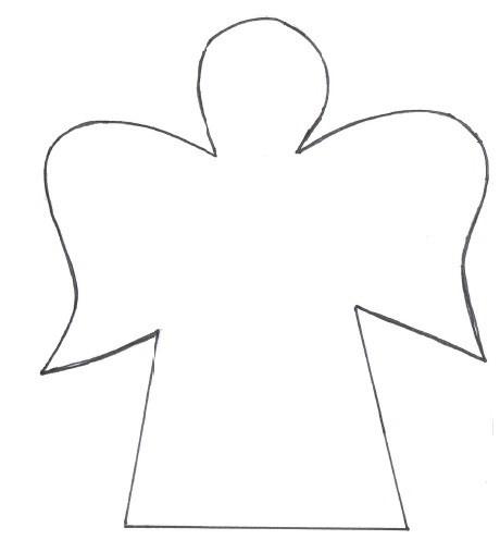 Engel Vorlage Zum Ausdrucken Als Pdf Kribbelbunt 14