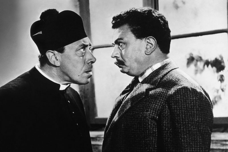 Don Camillo und Peppone (c) picture alliance