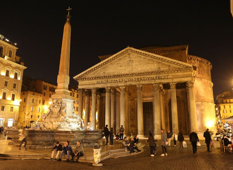 Pantheon in Rom (c) picturealliance_APApicturedeskcom_Karl-Schöndorfer