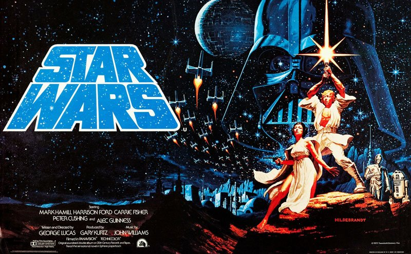 Star-Wars-Plakat (c) picturealliance_Everett_Collection